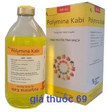 Thuốc Polymina Kabi là thuốc gì? có tác dụng gì? giá bao nhiêu?