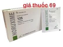 Thuốc Noruxime 125 là thuốc gì? có tác dụng gì? giá bao nhiêu?