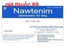 Thuốc Nawtenim 50 là thuốc gì? có tác dụng gì? giá bao nhiêu?