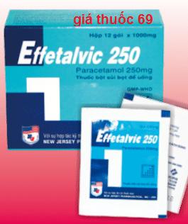 Thuốc Effetalvic 250mg là thuốc gì? có tác dụng gì? giá bao nhiêu?