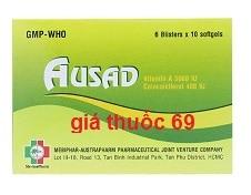 Thuốc Ausad là thuốc gì? có tác dụng gì? giá bao nhiêu?