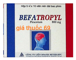 Thuốc Befatropyl 800 là thuốc gì? có tác dụng gì? giá bao nhiêu