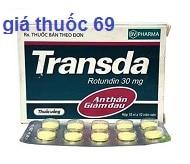 Thuốc Transda 30 là thuốc gì? có tác dụng gì? giá bao nhiêu?