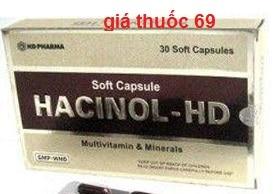 Thuốc Hacinol HD là thuốc gì? có tác dụng gì? giá bao nhiêu?