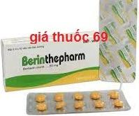 Thuốc Berinthepharm 50 là thuốc gì? có tác dụng gì? giá bao nhiêu?