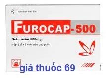 Thuốc Furocap 500 là thuốc gì? có tác dụng gì? giá bao nhiêu?