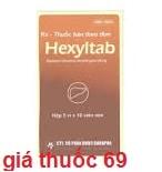 Thuốc Hexyltab là thuốc gì? có tác dụng gì? giá bao nhiêu?