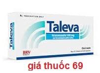 Thuốc Taleva 100mg là thuốc gì? có tác dụng gì? giá bao nhiêu?