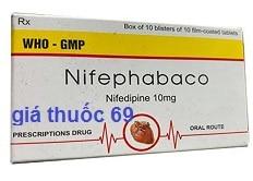 Thuốc Nifephabaco 10 là thuốc gì? có tác dụng gì? giá bao nhiêu?