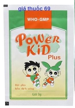 Thuốc Powerkid plus là thuốc gì? có tác dụng gì? giá bao nhiêu?