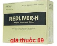 Thuốc Red liver là thuốc gì? có tác dụng gì? giá bao nhiêu?