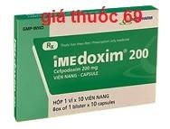 Thuốc Imedoxim 200 là thuốc gì? có tác dụng gì? giá bao nhiêu?