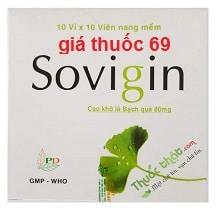 Thuốc Sovigin 80 là thuốc gì? có tác dụng gì? giá bao nhiêu?